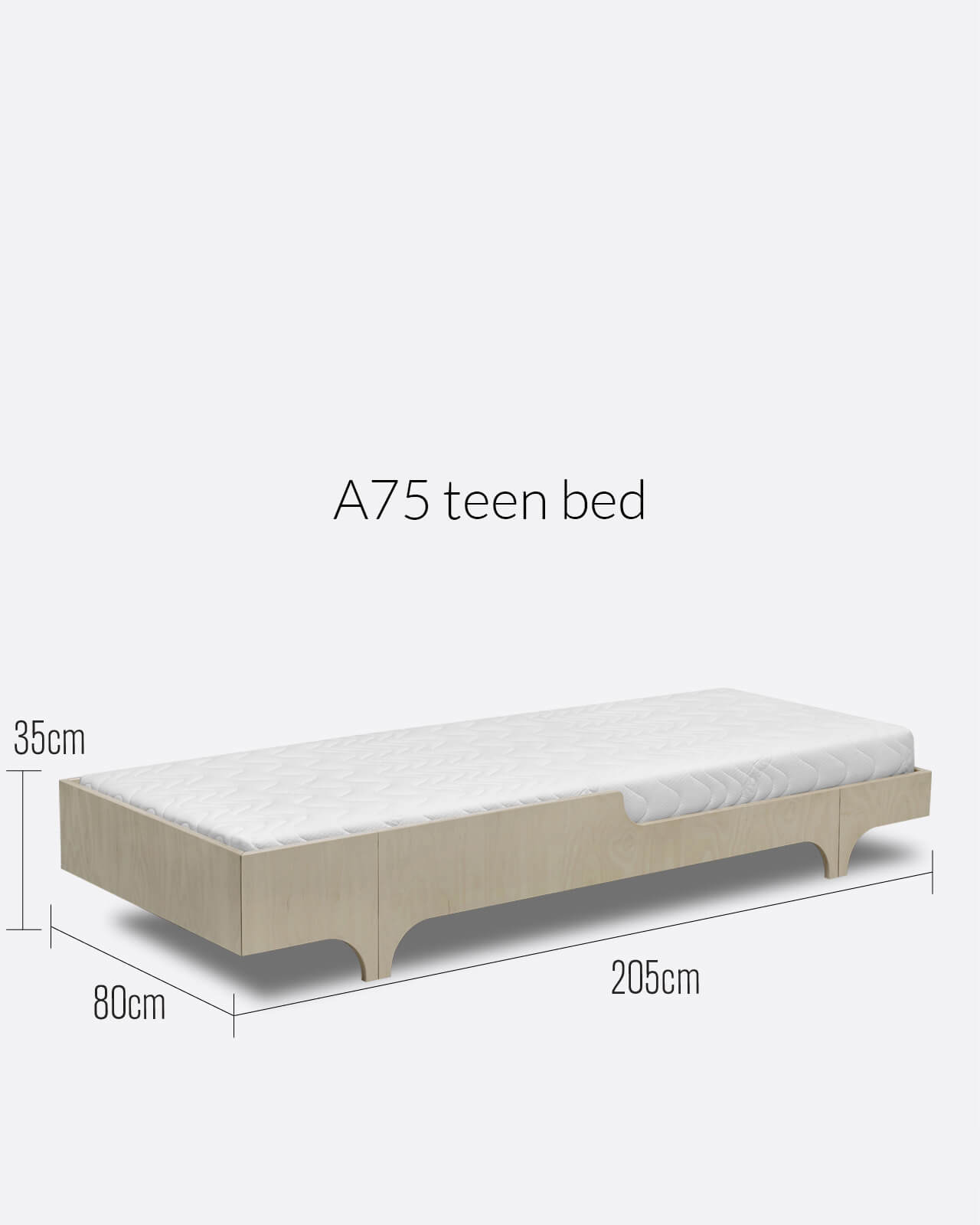 Picture of: A75 Teen Bed Designer Furniture For Children S Room Rafa Kids
