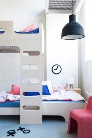F Amp A75 Bunk Bed For 2 Children Designer Furniture Rafa Kids