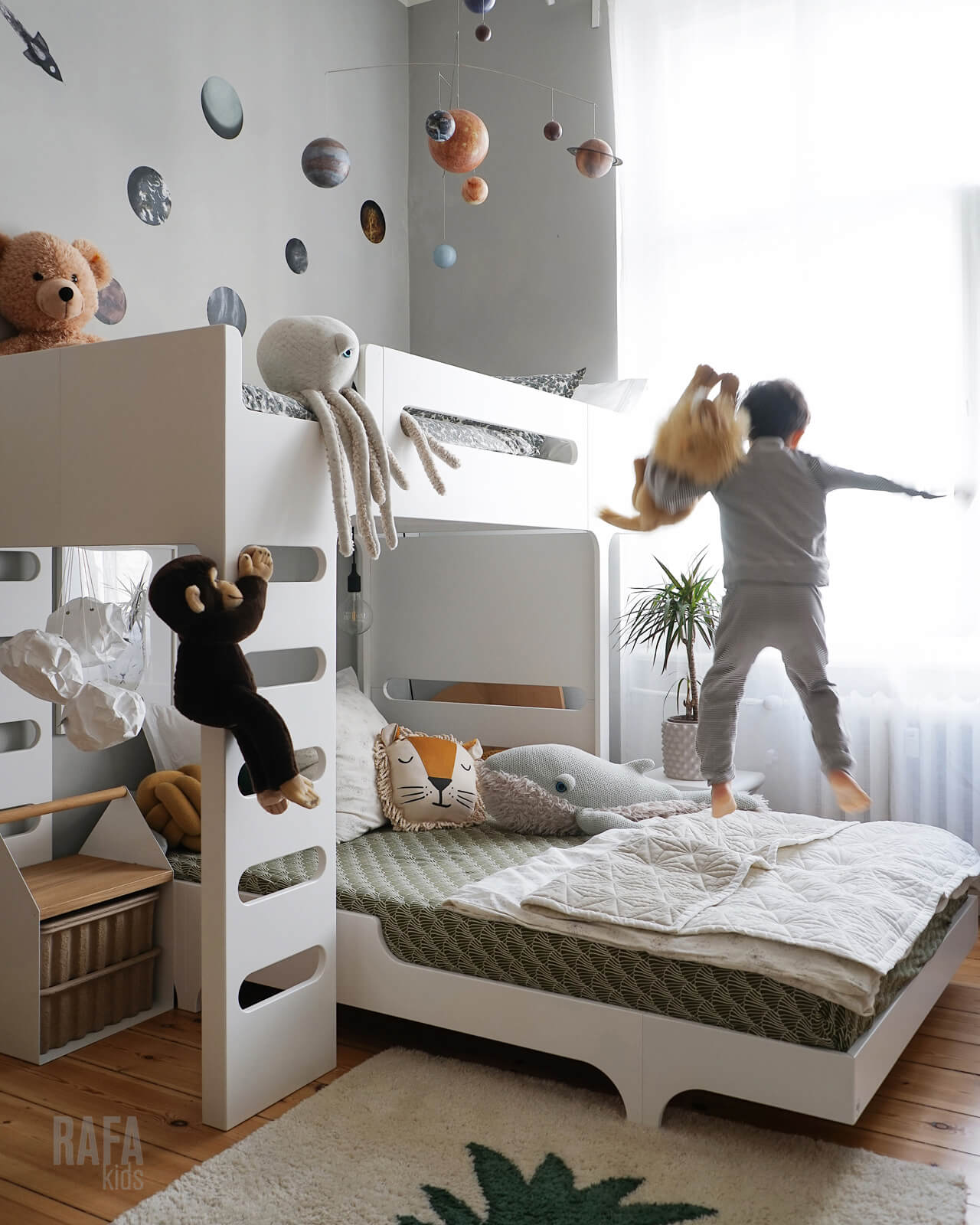 Rafa-kids F&A120 bed set