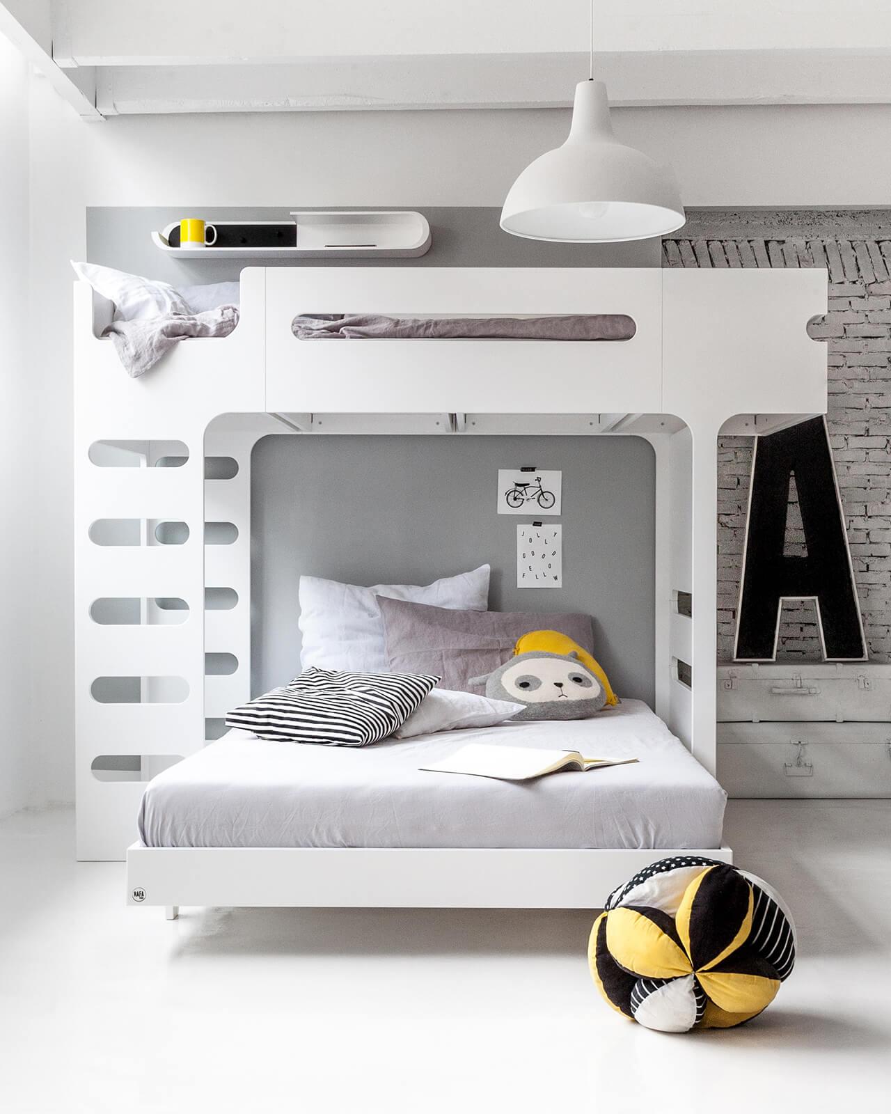 F&A120 Bunk Bed for 2 Children - Designer Furniture - Rafa-kids