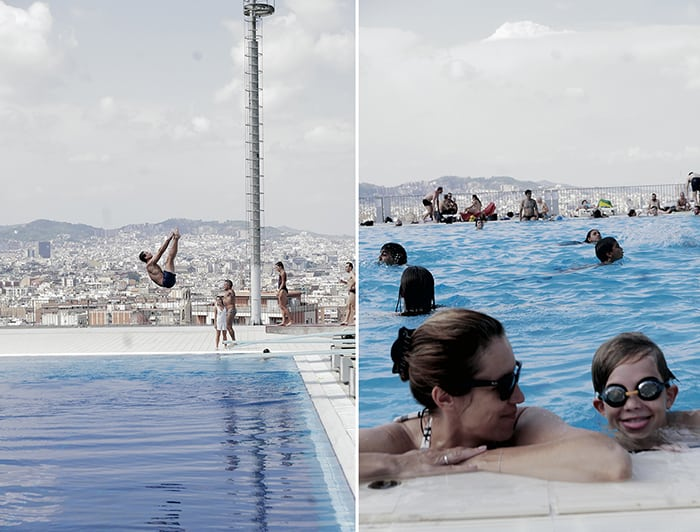 Barcelona swiming pool