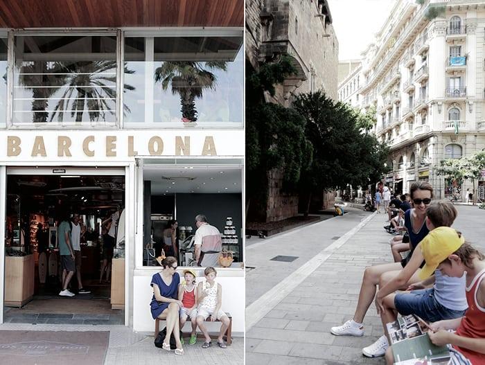 Barcelona with kids Rafa-kids tips