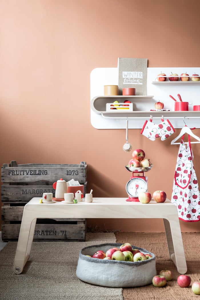 Idea hot to set a playroom for your toddler
