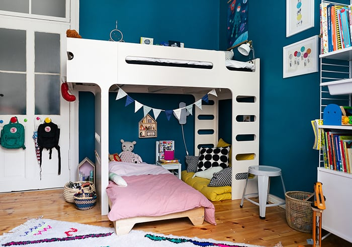 Siblings Room with F bunk bed from Rafa-kids