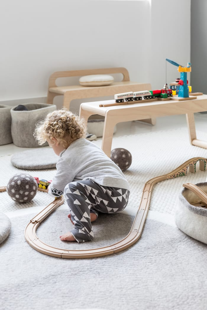 Playroom for a toddler