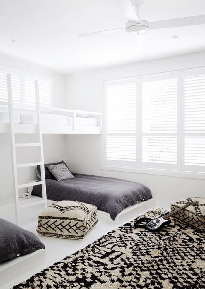 Minimal teen room
