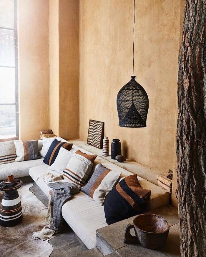 Maroccan style siting corner