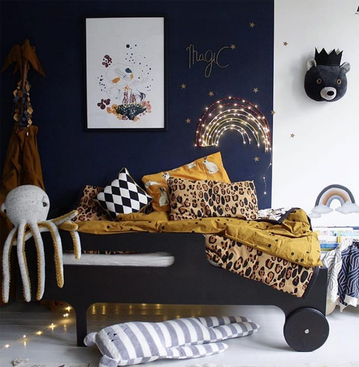 Boy room with Toddler bed from Rafa-kids