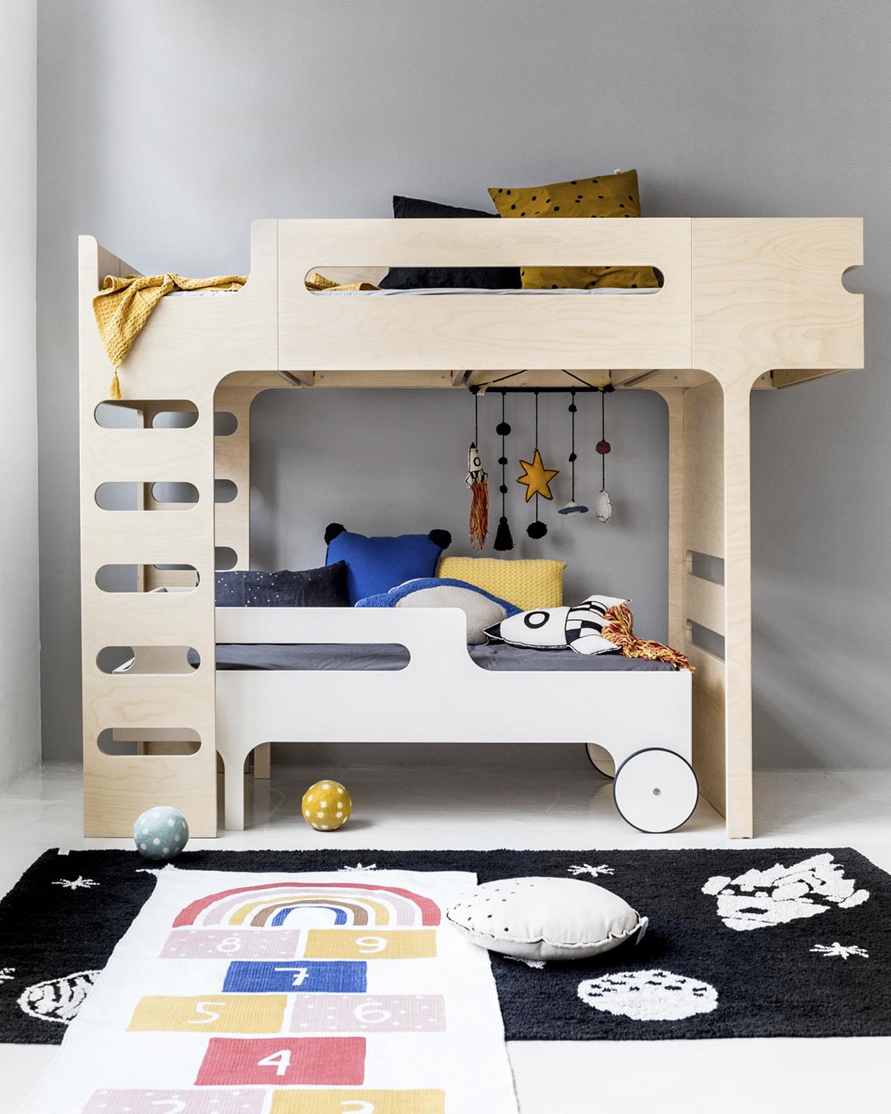F R Bunk Bed For 2 Children Designer Furniture Rafa Kids