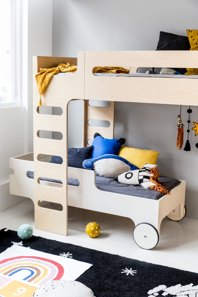 F R Bunk Bed For 2 Children Designer Furniture Rafa Kids
