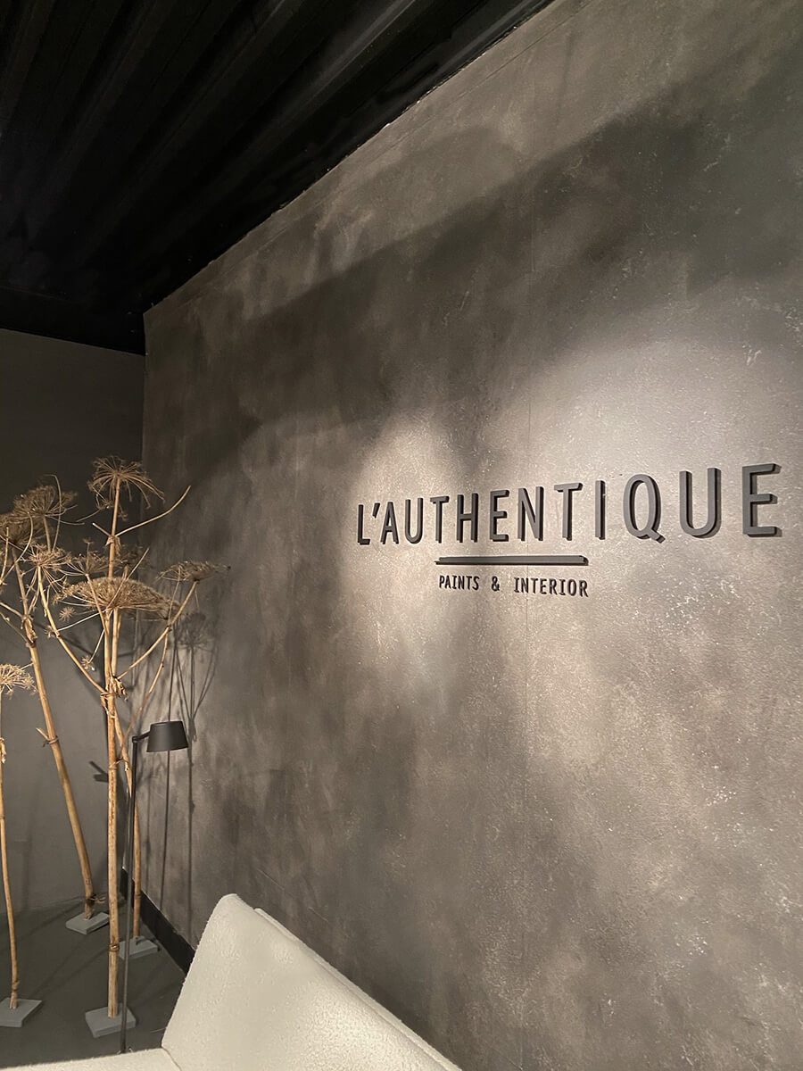 L ' AUTHENTIQUE - natural paint & interior